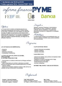Programa Informe Financiero Pyme