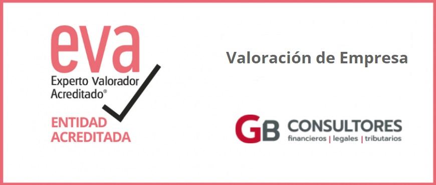 GB Consultores obtiene la certificación de Entidad Acreditada EVA® en Valoración de Empresa