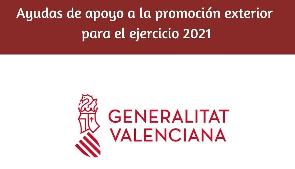 Ayudas 2021 a la internacionalización de la pyme valenciana