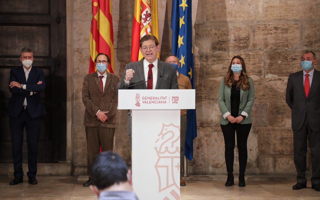 La Generalitat presenta el Plan Resistir