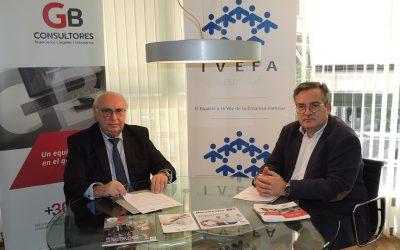 Convenio de colaboración entre GB Consultores e IVEFA