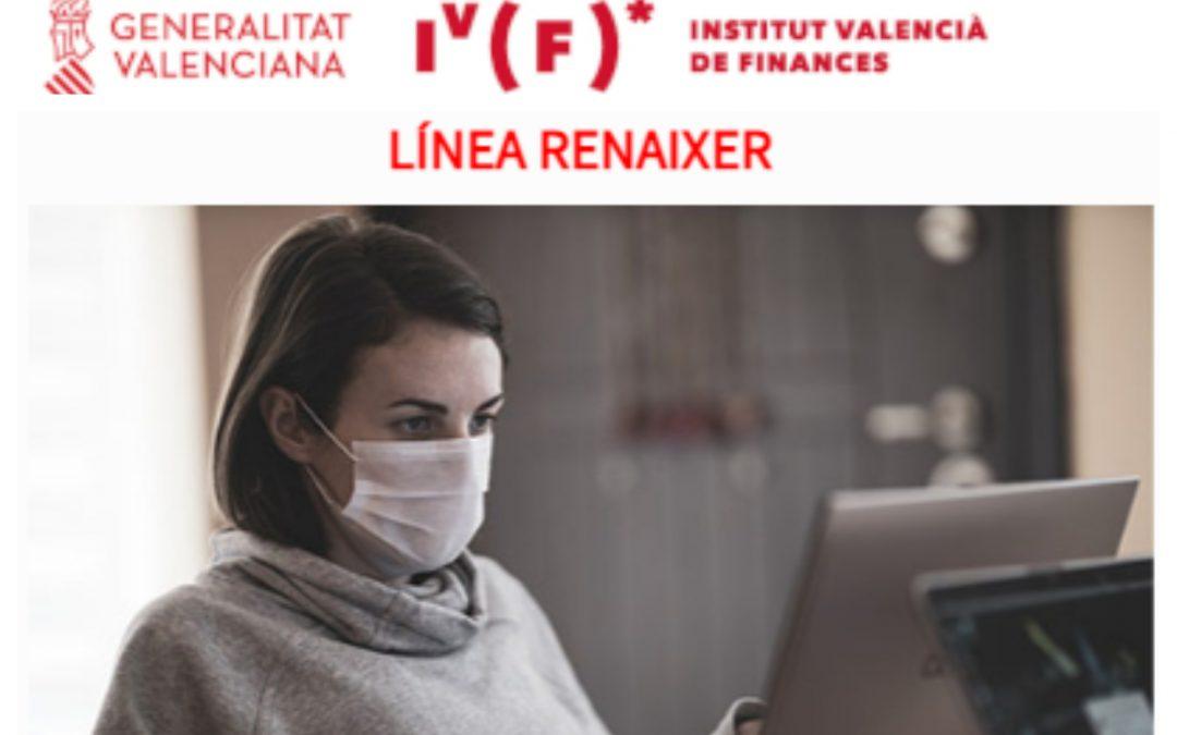 Línea Renaixer, financiación para proyectos empresariales de la CV