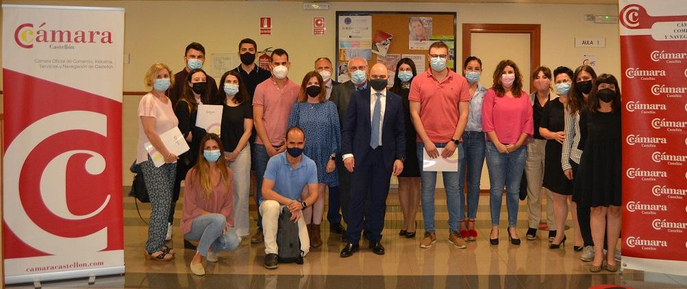 Clausura del 7º Programa Formación Controller de Castellón